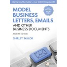 Model Business, Letters, Emails and other business documents
