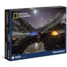 Puzzle National Geographic Everest Camp 1000 Clementoni
