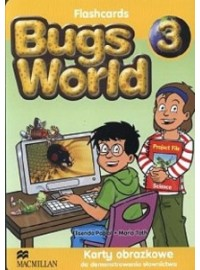 Bugs World 3 karty obrazkowe MACMILLAN