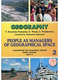 Geography People as managers of geografical space 2 SOP