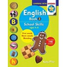 English Book 3 School SkillsFirst Words, Short Vowels and Blending PRIM-ED