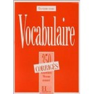 Vocabulaire 350 Exercices klucz HACHETTE