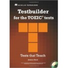 Testbuilder for the TOEIC Tests Macmillan