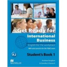 Get Ready for International Business 1 Podręcznik Macmillan
