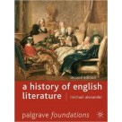 A History of English Literature PALGRAVE