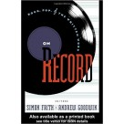 On Record Rock Pop and the Written Word ROUTLEDGE