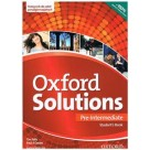 Oxford Solutions Pre-Intermediate podręcznik
