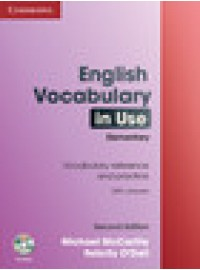 English Vocabulary in Use Elementary 2ed podręcznik z kluczem + CD-ROM CAMBRIDGE