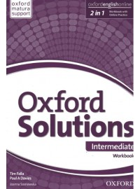 Oxford Solutions Intermediate ćwiczenia Oxford