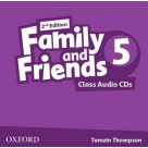 Family and Friends 5 Class Audio CDs 2ed OXFORD