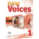 New Voices 1 ćwiczenia + CD MACMILLAN